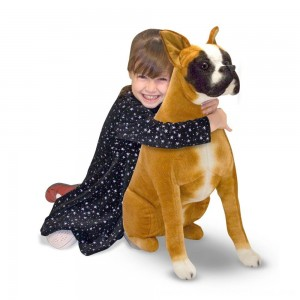 Black Friday 2020 - Melissa & Doug Giant Boxer - Lifelike Stuffed Animal Dog