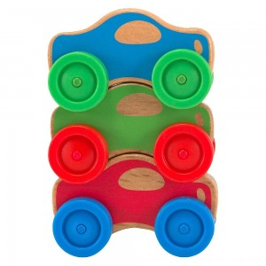 Black Friday 2020 - Melissa & Doug Stacking Cars Wooden Baby Toy