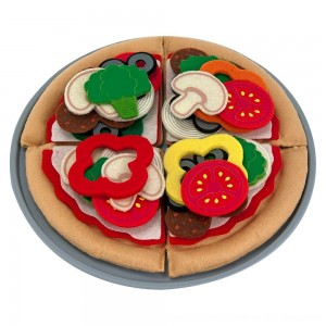 Black Friday 2020 - Melissa & Doug Felt Food Mix 'n Match Pizza Play Food Set (40pc)