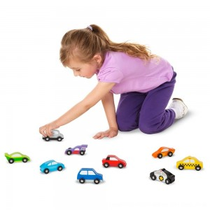 Black Friday 2020 - Melissa & Doug Wooden Car Set