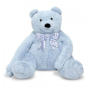 Black Friday 2020 - Melissa & Doug Jumbo 2' Teddy Bear - Blue