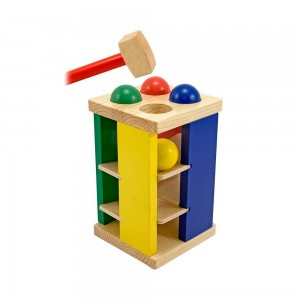 Black Friday 2020 - Melissa & Doug Deluxe Pound and Roll Wooden Tower Toy With Hammer