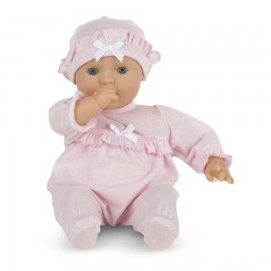 "Black Friday 2020 - Melissa & Doug Mine to Love Jenna 12"" Soft Body Baby Doll"