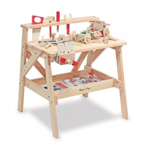 Black Friday 2020 - Melissa & Doug Solid Wood Project Workbench Play Building Set