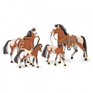 Black Friday 2020 - Melissa & Doug Horse Family With 4 Collectible Horses
