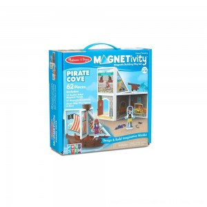 Black Friday 2020 - Melissa & Doug Magnetivity - Pirate Cove