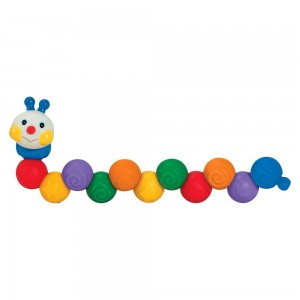 Black Friday 2020 - Melissa & Doug K's Kids Build an Inchworm Snap-Together Soft Block Set for Baby - Linkable, Twistable, Stackable, Squeezable