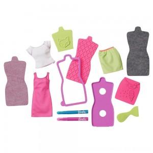 Black Friday 2020 - Barbie D.I.Y. Fashion Design Plates Accessory - Purple and Blue