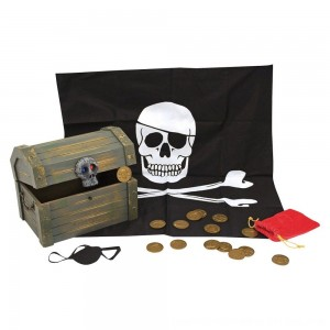 Black Friday 2020 - Melissa & Doug Wooden Pirate Chest Pretend Play Set