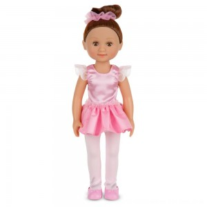 Black Friday 2020 - Melissa & Doug Victoria 14-Inch Poseable Ballerina Doll With Leotard and Tutu