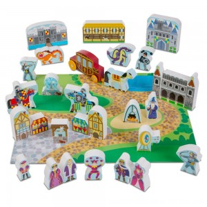 Black Friday 2020 - Melissa & Doug Wooden Castle Play Set