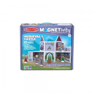 Black Friday 2020 - Melissa & Doug Magnetivity - Medieval Castle