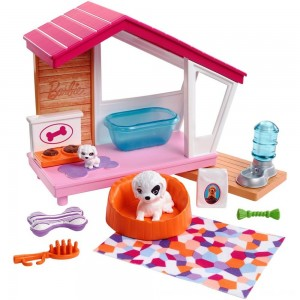 Black Friday 2020 - Barbie Dog House Playset, doll accessories