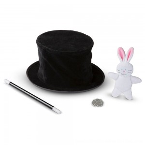 Black Friday 2020 - Melissa & Doug Magic in a Snap - Magician's Pop-Up Magical Hat with Tricks