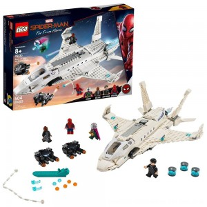 Black Friday 2020 - LEGO Super Heroes Marvel Spider-Man Stark Jet and the Drone Attack 76130