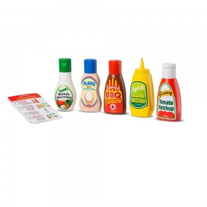 Black Friday 2020 - Melissa & Doug 6pc Favorite Condiments Play Food Set