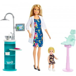 Black Friday 2020 - Barbie Dentist Doll & Playset - Blonde