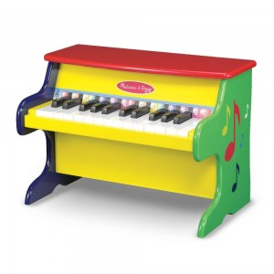 Black Friday 2020 - Melissa & Doug Learn-To-Play Piano With 25 Keys and Color-Coded Songbook