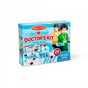 Black Friday 2020 - Melissa & Doug Get Well Doctor's Kit Play Set