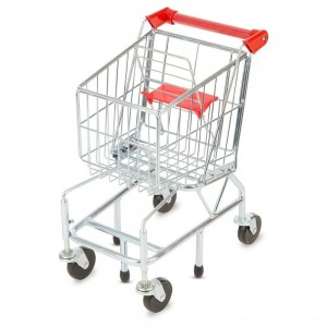 Black Friday 2020 - Melissa & Doug Toy Shopping Cart With Sturdy Metal Frame