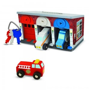 Black Friday 2020 - Melissa & Doug Keys & Cars Rescue Garage