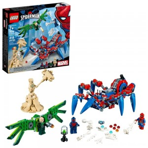 Black Friday 2020 - LEGO Super Heroes Marvel Spider-Man's Spider Crawler 76114