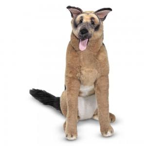 Black Friday 2020 - Melissa & Doug Giant German Shepherd - Lifelike Stuffed Animal Dog (over 2 feet tall)