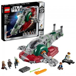 Black Friday 2020 - LEGO Star Wars Slave l – 20th Anniversary Collector Edition Collectible Model 75243 Building Kit