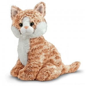 Black Friday 2020 - Melissa & Doug Pumpkin Tabby - Stuffed Animal Cat