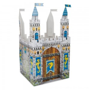 Black Friday 2020 - Melissa & Doug Medieval Castle Indoor Playhouse