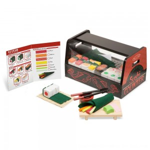 Black Friday 2020 - Melissa & Doug Roll, Wrap & Slice Sushi Counter