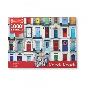 Black Friday 2020 - Melissa And Doug Knock Knock Doorways Puzzle 1000pc