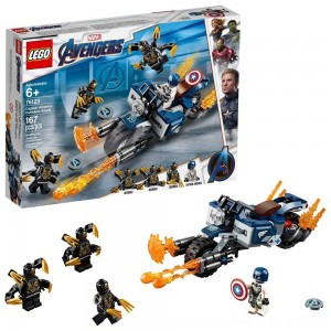 Black Friday 2020 - LEGO Super Heroes Marvel Avengers Movie 4 Captain America: Outriders Attack 76123