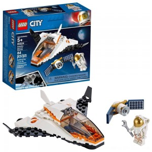 Black Friday 2020 - LEGO City Space Satellite Service Mission 60224 Space Shuttle Toy Building Set 84pc