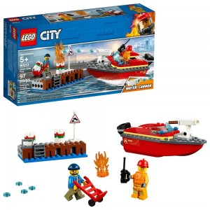 Black Friday 2020 - LEGO City Dock Side Fire 60213