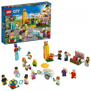 Black Friday 2020 - LEGO City People Pack - Fun Fair 60234 Toy Fair Building Set with Ice Cream Cart 183pc