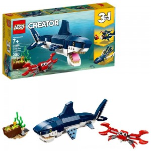 Black Friday 2020 - LEGO Creator Deep Sea Creatures Building Kit Sea Animal Toys for Kids 31088