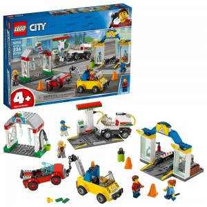 Black Friday 2020 - LEGO City Garage Center 60232 Building Kit for Kids 4+ with Toy Vehicle 234pc