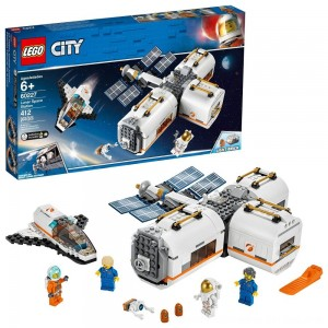 Black Friday 2020 - LEGO City Space Lunar Space Station 60227 Space Station Building Set with Toy Shuttle