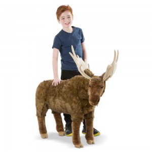 Black Friday 2020 - Melissa & Doug Moose Plush Toy
