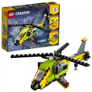 Blac Friday 2020 - LEGO Creator Helicopter Adventure 31092