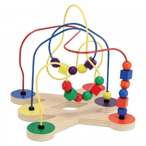 Black Friday 2020 - Melissa & Doug Classic Bead Maze - Wooden Educational Toy