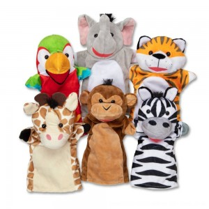 Black Friday 2020 - Melissa & Doug Safari Buddies Hand Puppets
