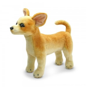 Black Friday 2020 - Melissa & Doug Chihuahua Dog - Lifelike Stuffed Animal