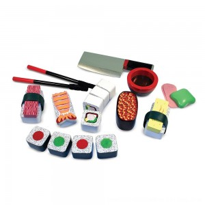 Black Friday 2020 - Melissa & Doug Sushi Slicing Wooden Play Food Set