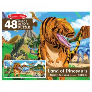 Black Friday 2020 - Melissa And Doug Land Of Dinosaurs Floor Puzzle 48pc