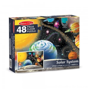 Black Friday 2020 - Melissa And Doug Solar System Floor Puzzle 48pc