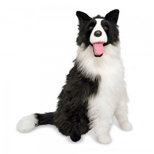 Black Friday 2020 - Melissa & Doug 2' Giant Border Collie