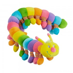 Black Friday 2020 - Melissa & Doug Longfellow Caterpillar - Rainbow-Colored Stuffed Animal With 32 Floppy Feet (over 2 feet long)