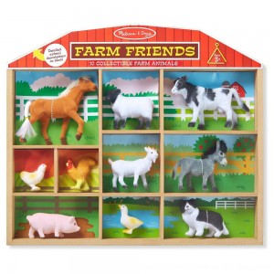 Black Friday 2020 - Melissa & Doug Farm Friends - 10 Collectible Farm Animals